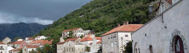 Na estrada: de Kotor para Croácia