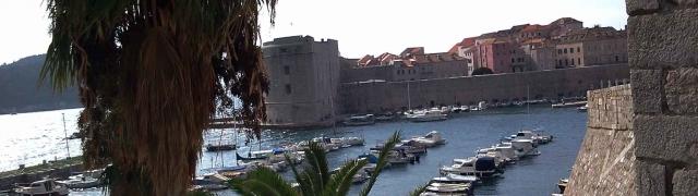 Na estrada: de Perast para Dubrovnik