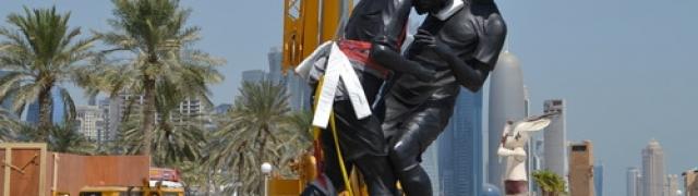 """Coup de tête"" vem parar no Qatar"